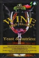 Wine Yeasts, Nutrients